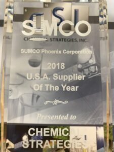 Semiconductor Supplier of the Year Award for Chemical Strategies, Inc.