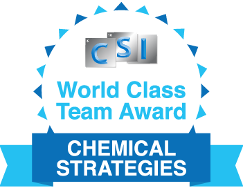 World Class Team Award_Chemical Strategies Inc